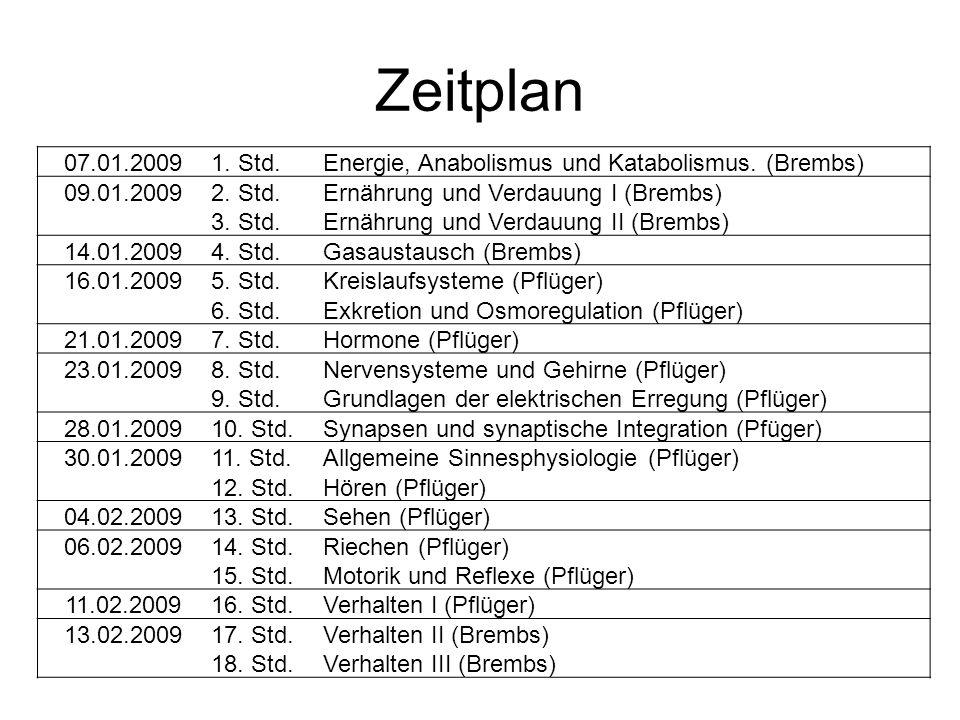 Bücherempfehlungen Roger Eckert Tierphysiologie 4.