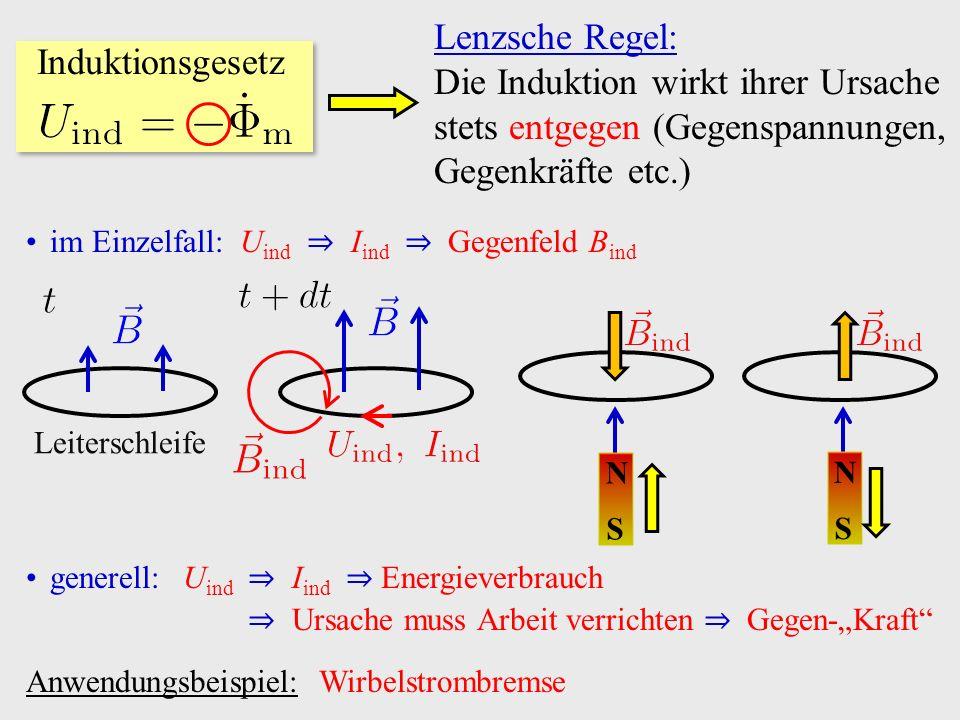 Induktionsgesetz Maschenregel Wechselstrom Tafelrechnung zum Transformator (1)