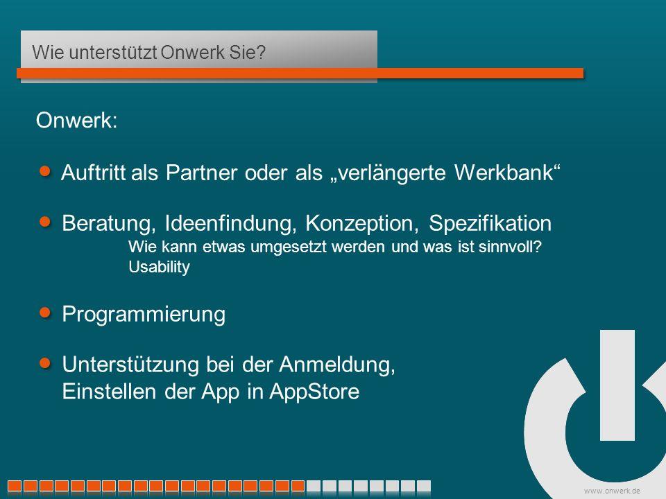 www.onwerk.de Wie unterstützt Onwerk Sie.