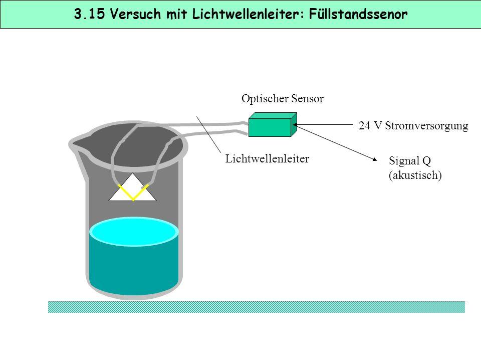 Reflexionslichttaster mit Lichtwellenleitern werden immer dann verwendet, wenn besonders hohe Anforderungen an die Abtastung werden, z.B. * bei der De