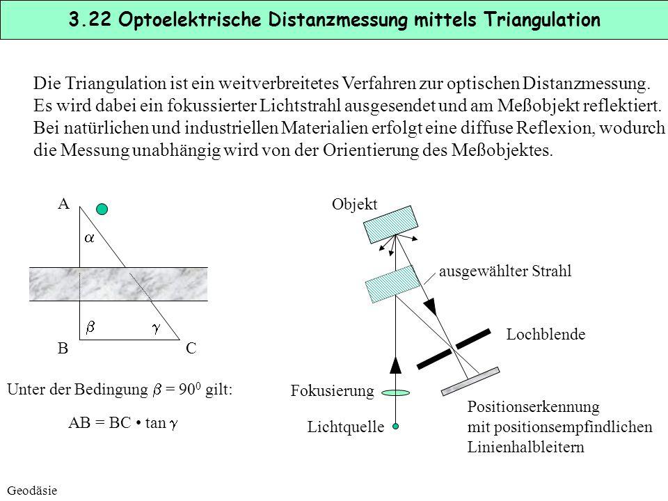 Optische Sensoren können auch zur Feinpositionierung von Förderzeugen, Ladebrückem etc. eingesetzt werden, nachdem eine Vorpositionierung durch die ze