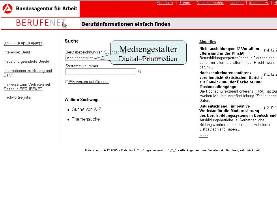 abiberatung münchen Beratung akademische Berufe Mediengestalter Digital-/Printmedien