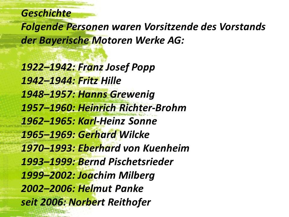 Joachim MilbergBernd Pischetsrieder Helmut Panke