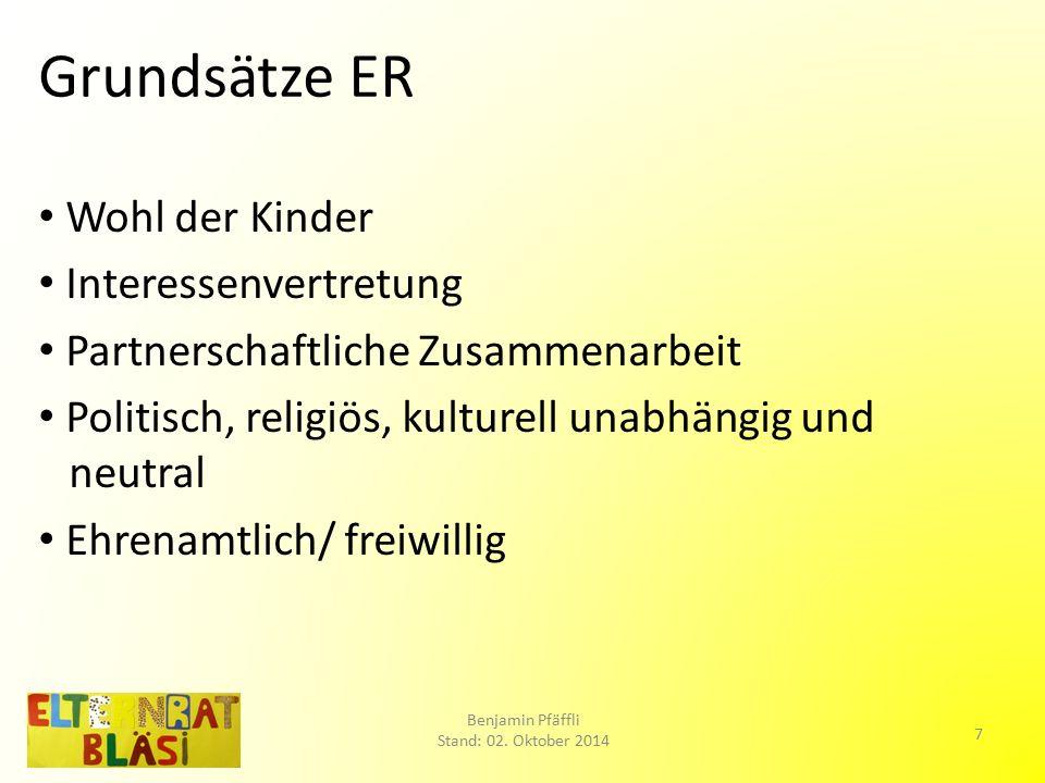 Gesetzliche Grundlage Leitfaden des Erziehungsdepartements des Kantons Basel-Stadt vom 09.