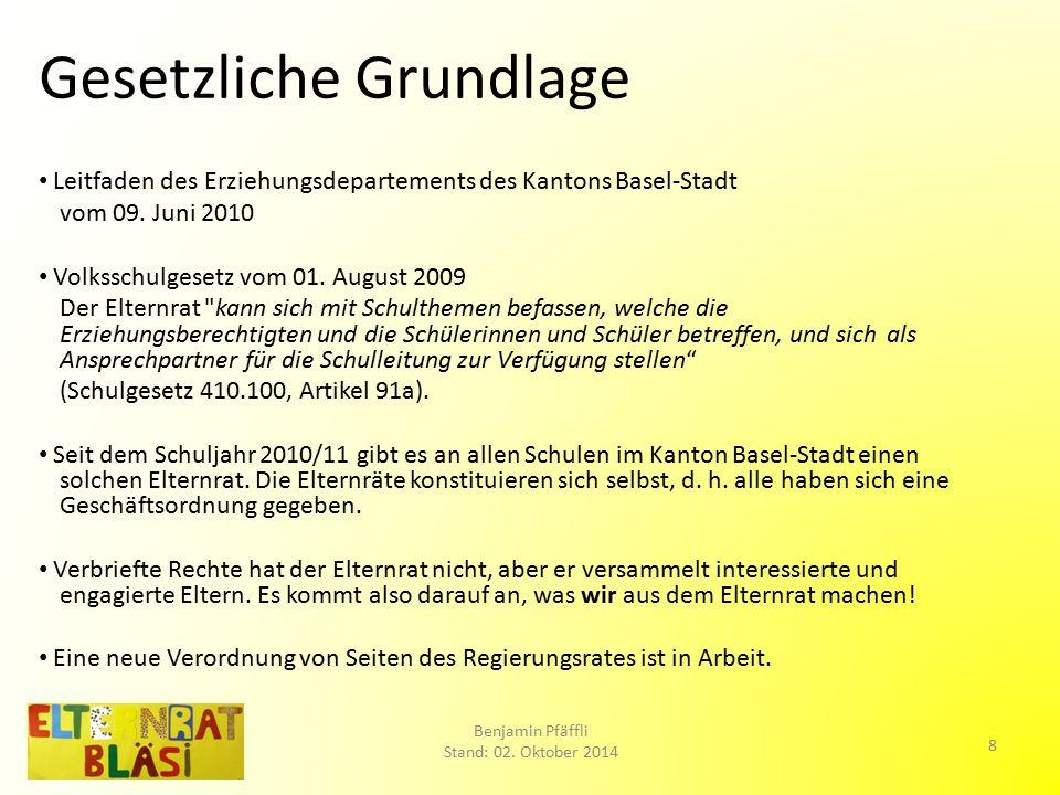 Sonstiges Amtsdauer: 1 Jahr (Wiederwahl möglich).ER-Sitzungsdaten im SJ 2014/15: 2.