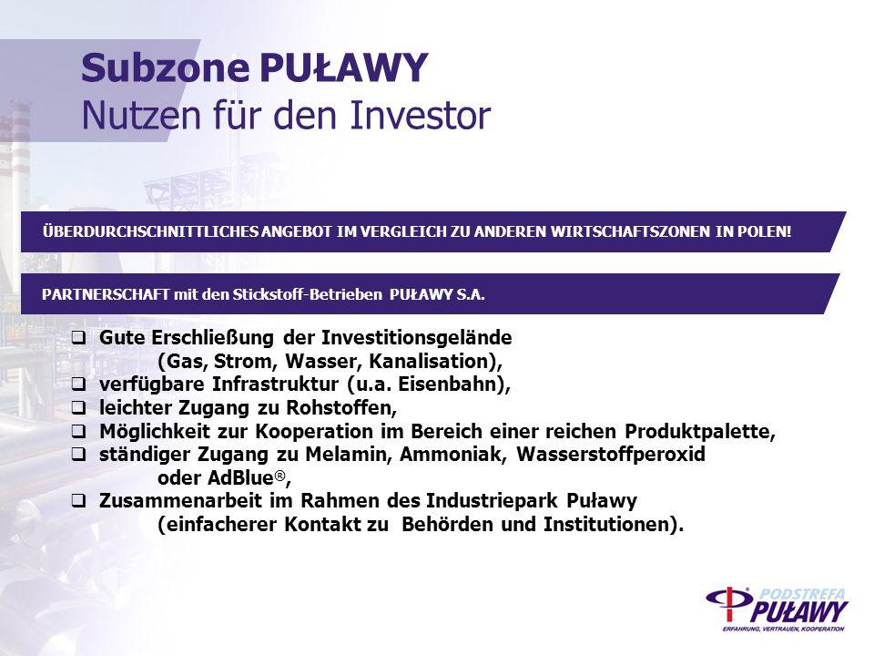 PARTNERSCHAFT mit den Stickstoff-Betrieben PUŁAWY S.A.