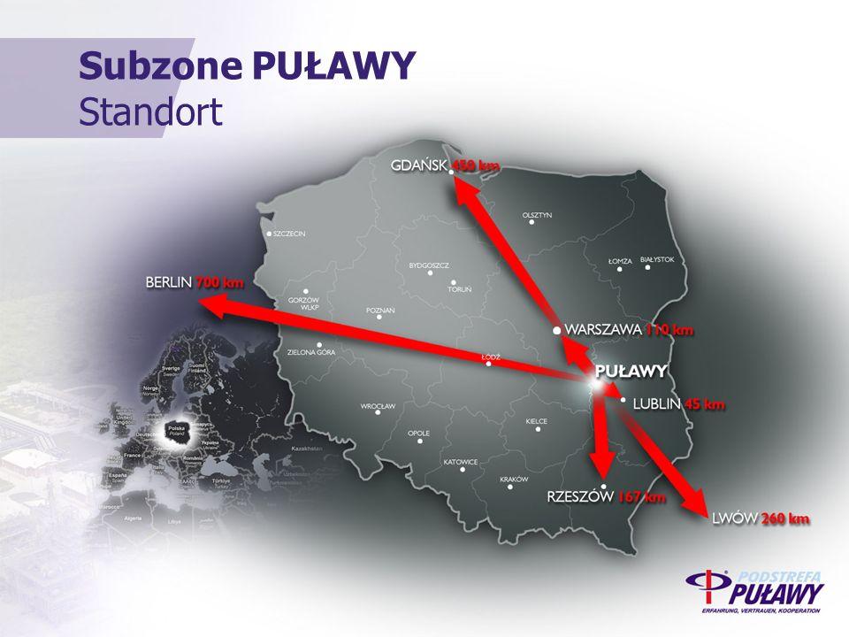 Subzone PUŁAWY Standort