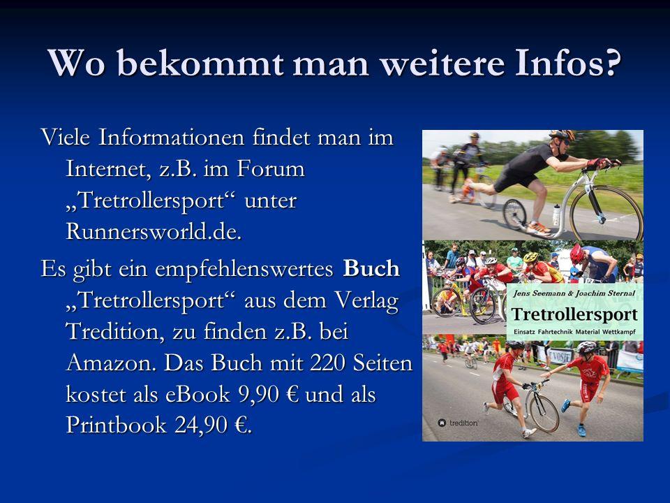 Wo bekommt man weitere Infos. Viele Informationen findet man im Internet, z.B.
