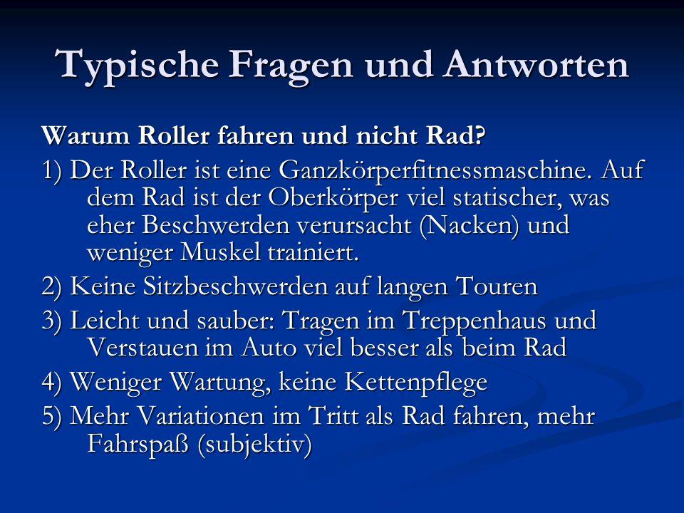 Mit dem Tretroller kann man auch bei RadTourenFahrten oder ADFC-Touren teilnehmen.