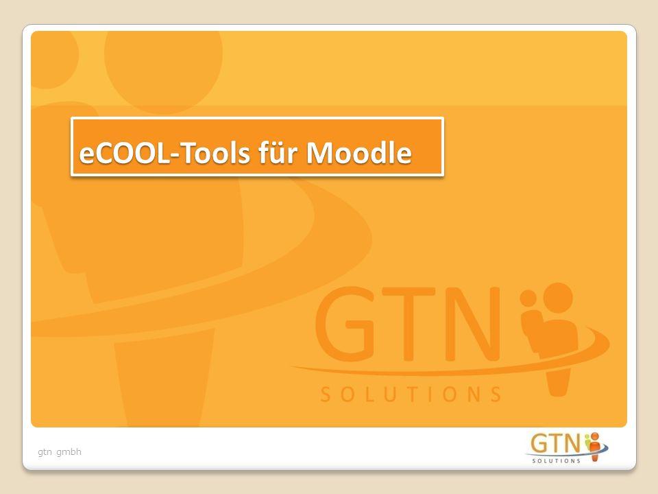 gtn gmbh eCOOL-Tools für Moodle