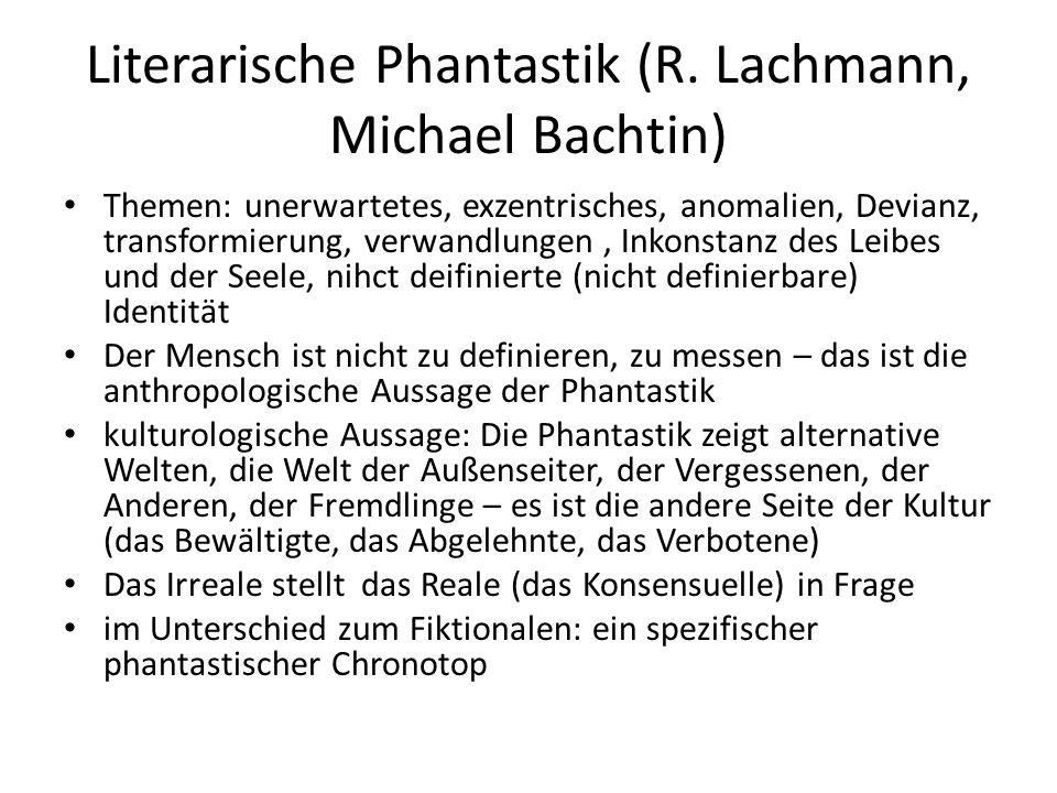 Literarische Phantastik (R.