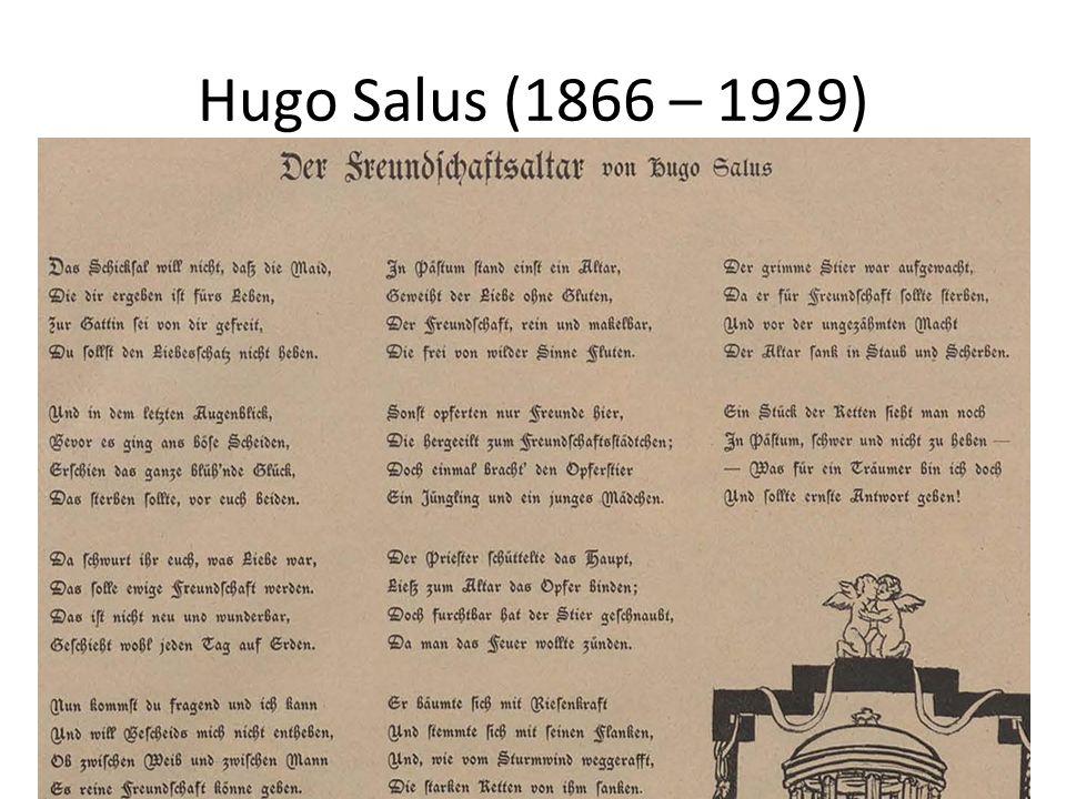 Ende der Gruppe nach 1906 Viele von den deutschsprachigen Künstlern gehen in um die Jahrhundertwende weg von Prag (meistens nach Deutschland): 1900 Rilke, 1907 Hugo Steiner, 1903 Victor Hadwiger, 1904 Gustav Meyrink, Camill Hoffmann Grund.