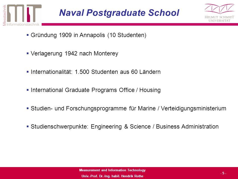 Measurement and Information Technology Univ.-Prof.