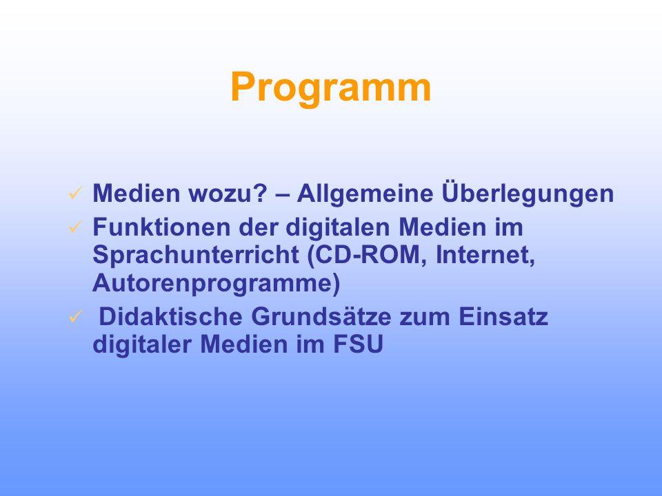 Der Einsatz digitaler Medien im Fremdsprachenunterricht – Ziele, Materialien, Evaluation