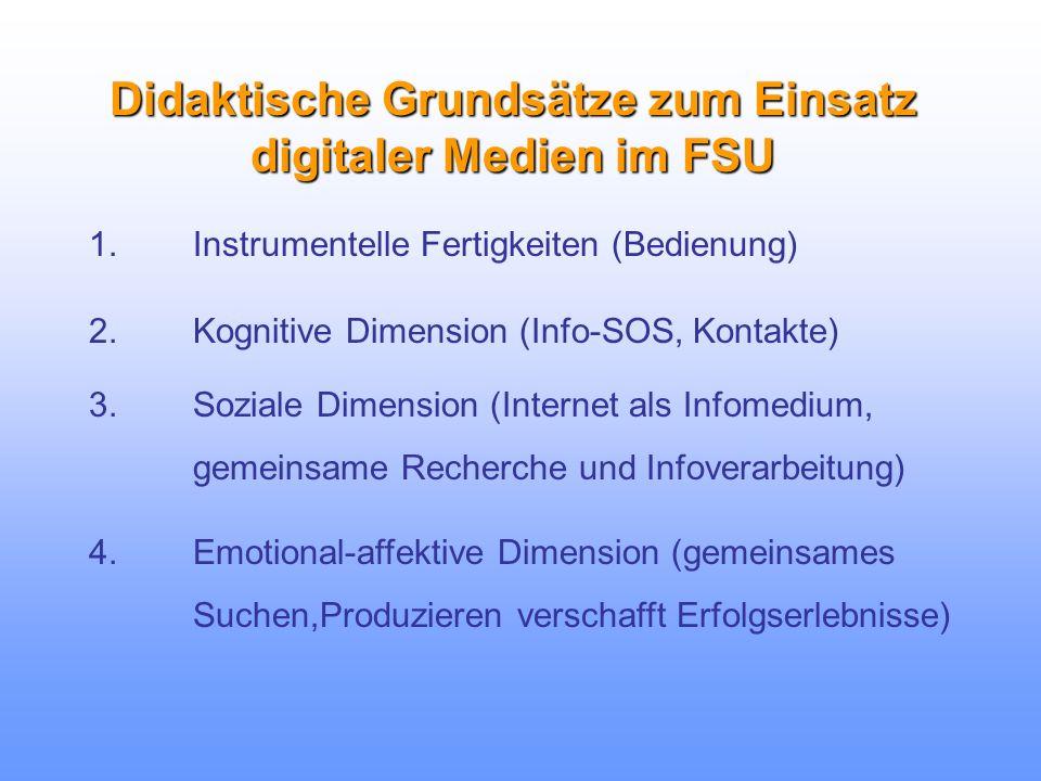 Beispiel: Internet im FSU als...