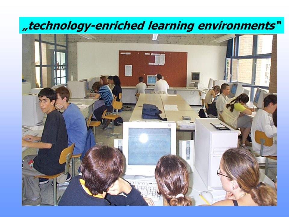 """enriched learning environments"""