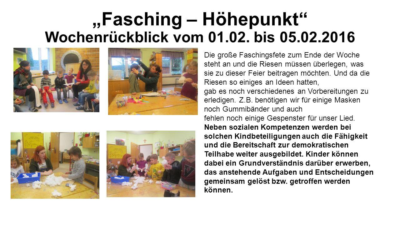 """""""Fasching – Höhepunkt Wochenrückblick vom 01.02."""