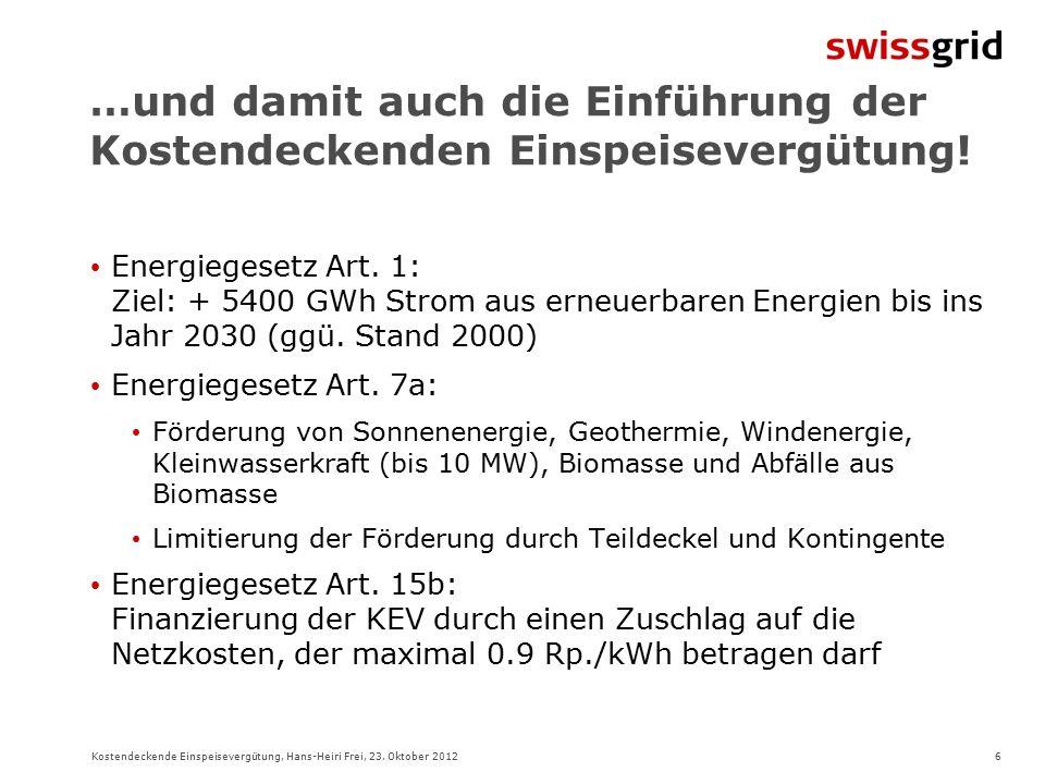 6Kostendeckende Einspeisevergütung, Hans-Heiri Frei, 23.
