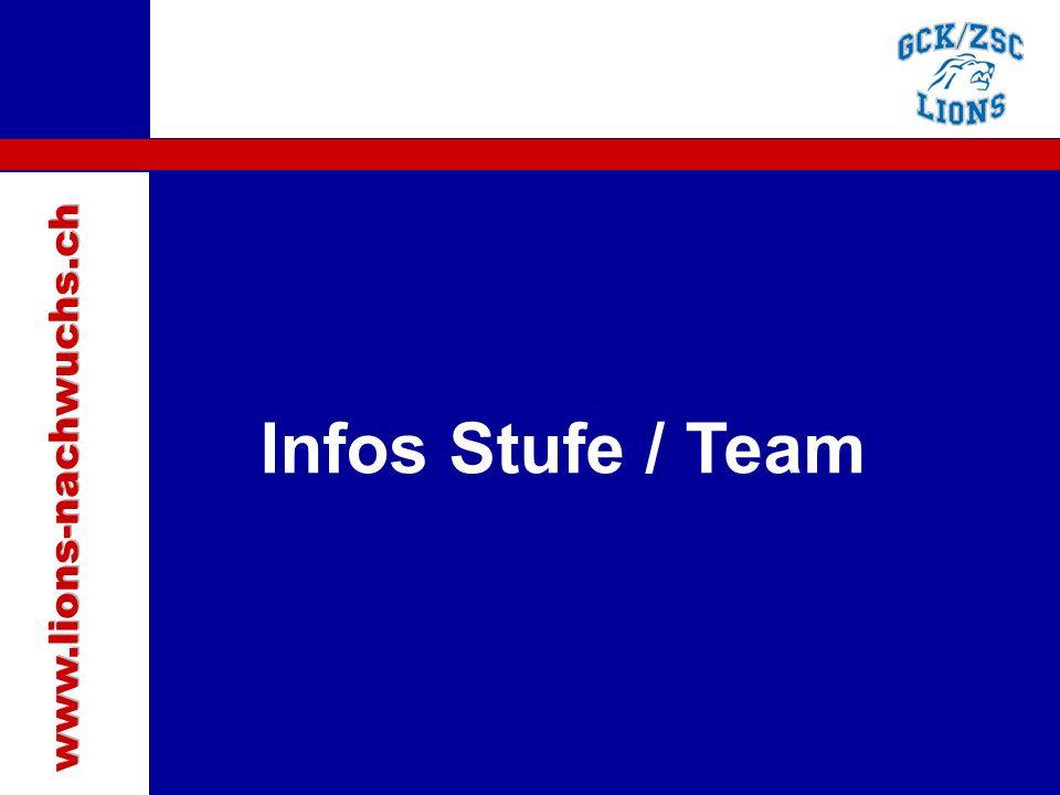 Traktanden Infos Stufe / Team