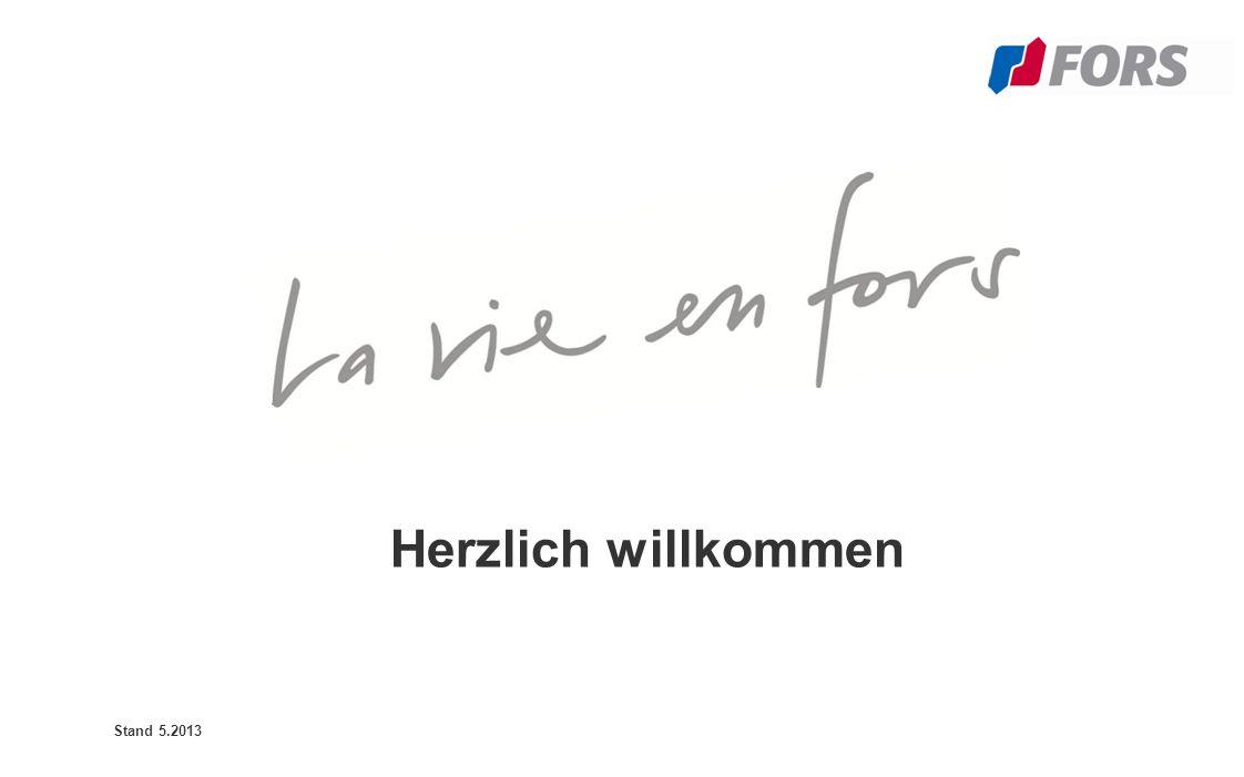 Herzlich willkommen Stand 5.2013