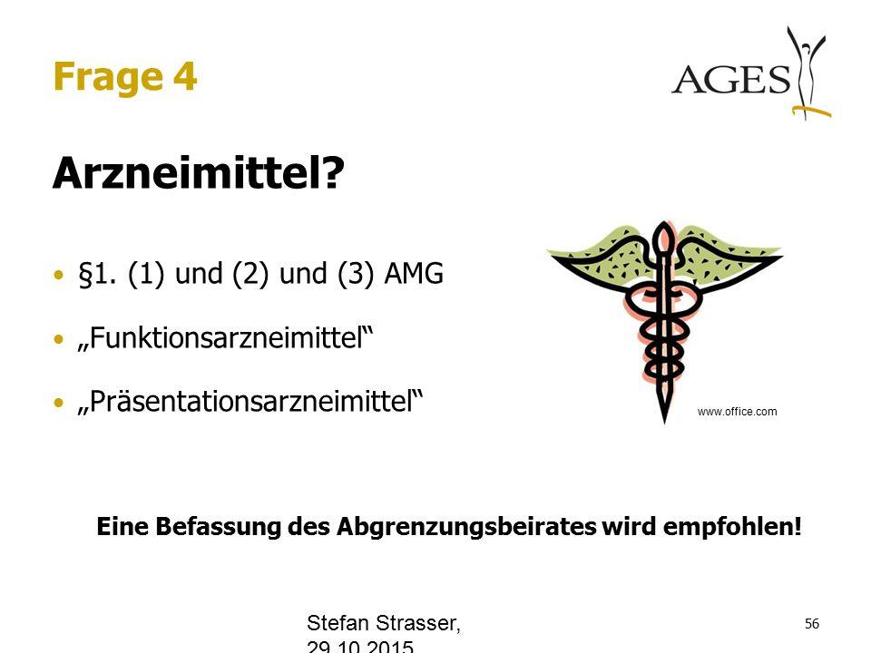 Frage 4 Arzneimittel. §1.