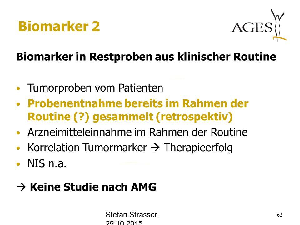 www.office.com Biomarker 2 Biomarker in Restproben aus klinischer Routine Tumorproben vom Patienten Probenentnahme bereits im Rahmen der Routine ( ) gesammelt (retrospektiv) Arzneimitteleinnahme im Rahmen der Routine Korrelation Tumormarker  Therapieerfolg NIS n.a.
