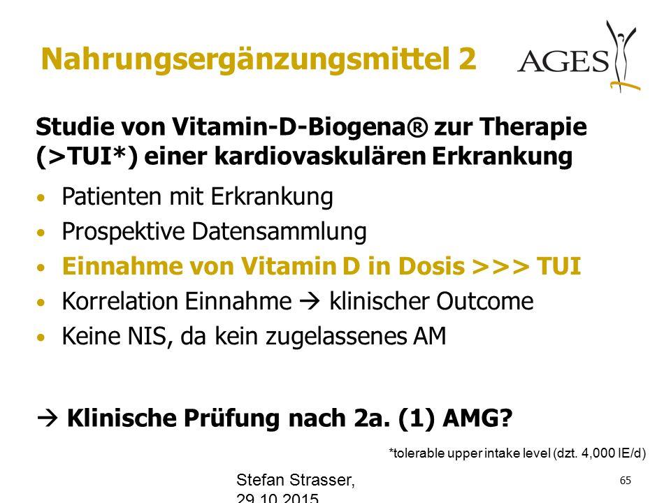 www.office.com Nahrungsergänzungsmittel 2 Studie von Vitamin-D-Biogena® zur Therapie (>TUI*) einer kardiovaskulären Erkrankung  Klinische Prüfung nach 2a.