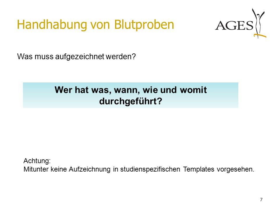 Austrian Agency for Health and Food Safetywww.ages.at VIELEN DANK für die Aufmerksamkeit.