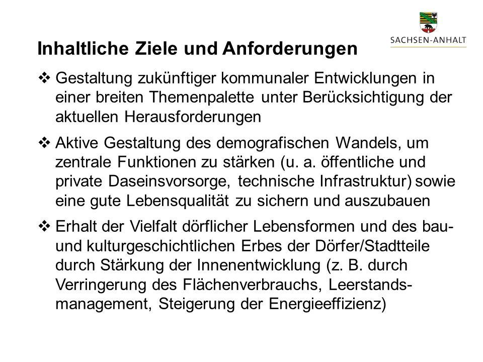 """III. Themenfelder der """"Integrierten Gemeindlichen Entwicklungskonzepte (IGEK)"""