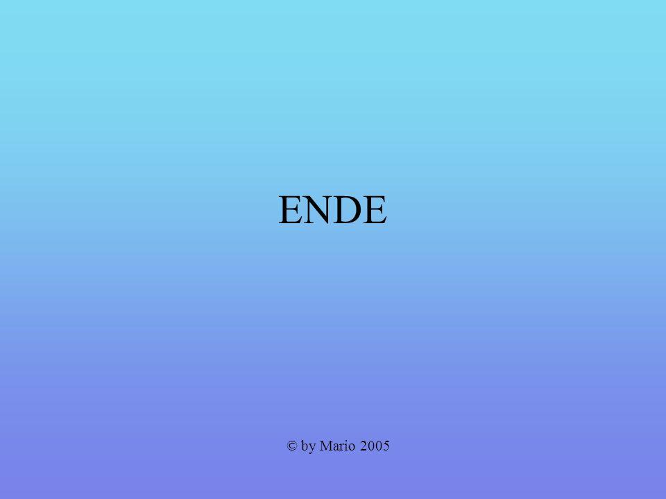 ENDE © by Mario 2005