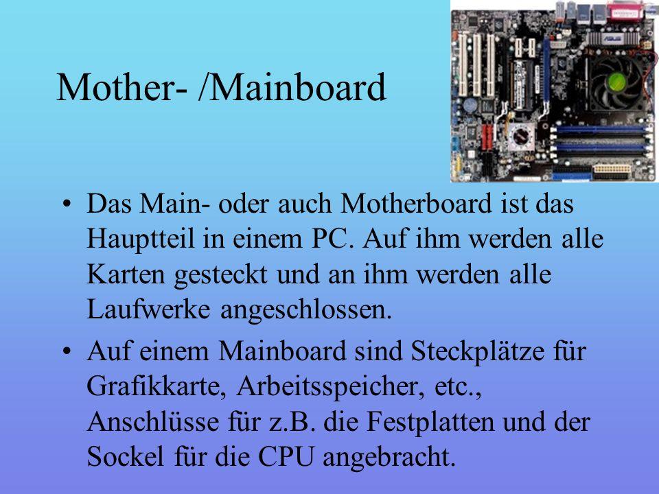 CPU Die CPU (engl.