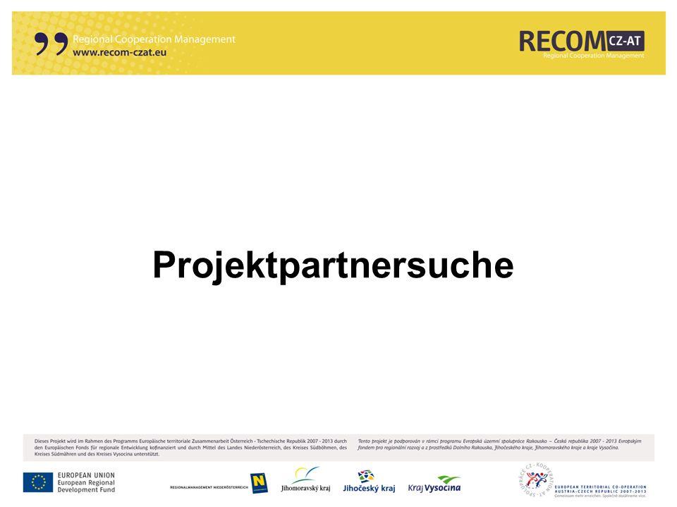 Projektpartnersuche