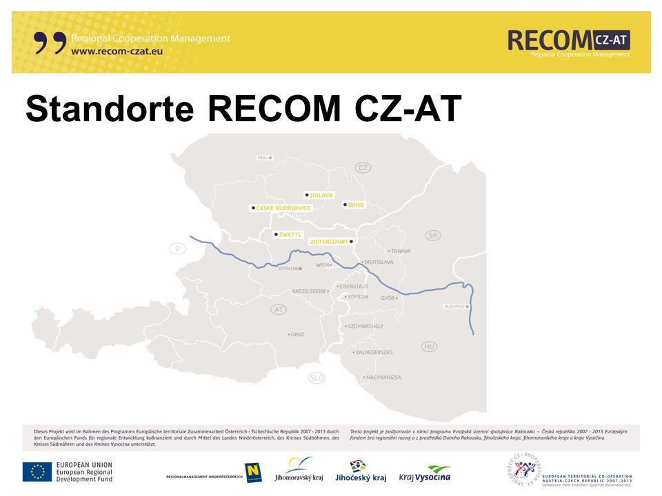 Standorte RECOM CZ-AT