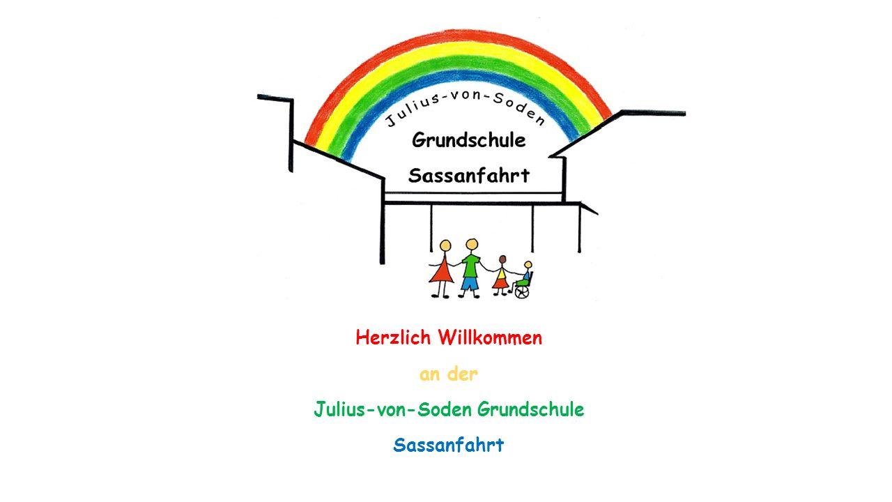Herzlich Willkommen an der Julius-von-Soden Grundschule Sassanfahrt