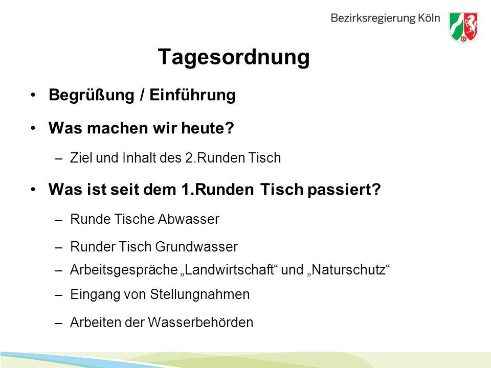 Rudolf Wergen Bezirksregierung Köln Dezernat 54 – Wasserwirtschaft 50606 Köln Dienstgebäude: Robert-Schuman-Str.