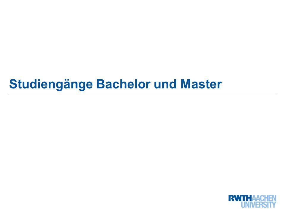 21 von 68 Studiengänge Bachelor und Master