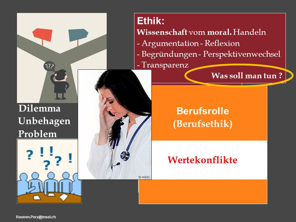 "Rouven.Porz@insel.ch12 ""Ethik Ethik: Wissenschaft vom moral."