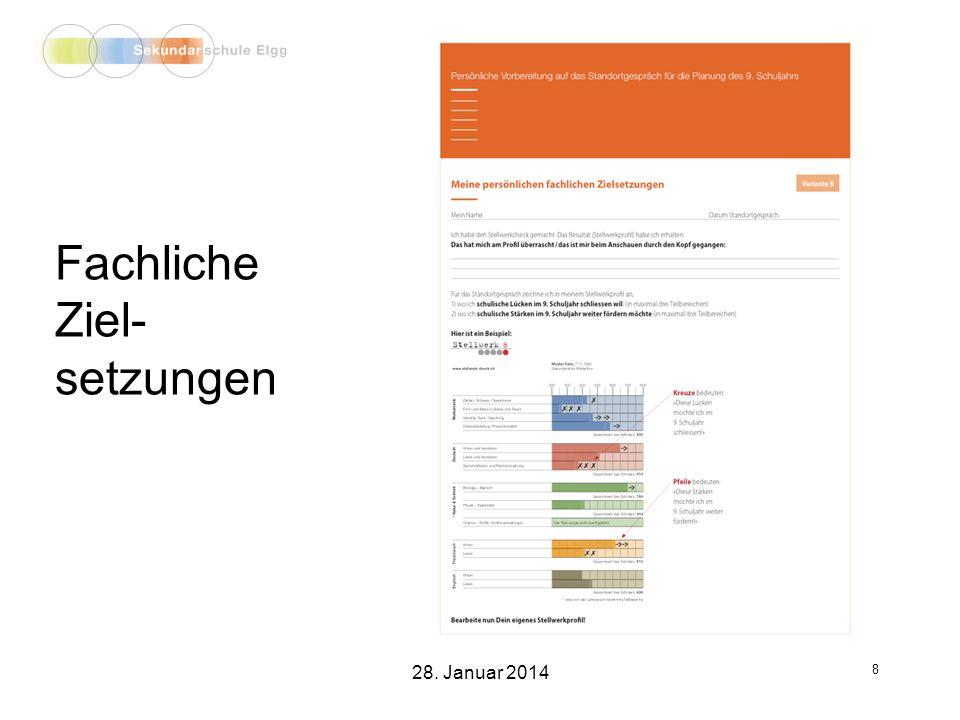 Projektunterricht 19 28. Januar 2014