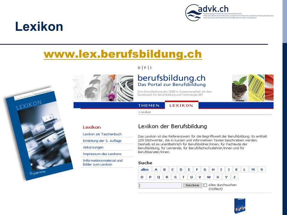 Lexikon www.lex.berufsbildung.ch
