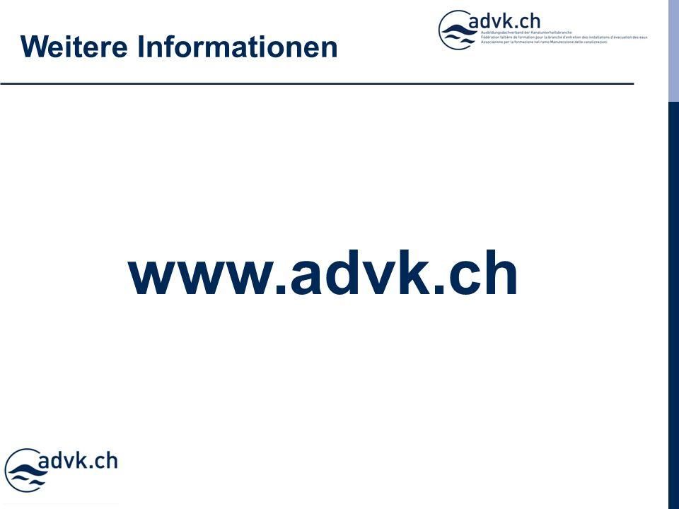 Weitere Informationen www.advk.ch