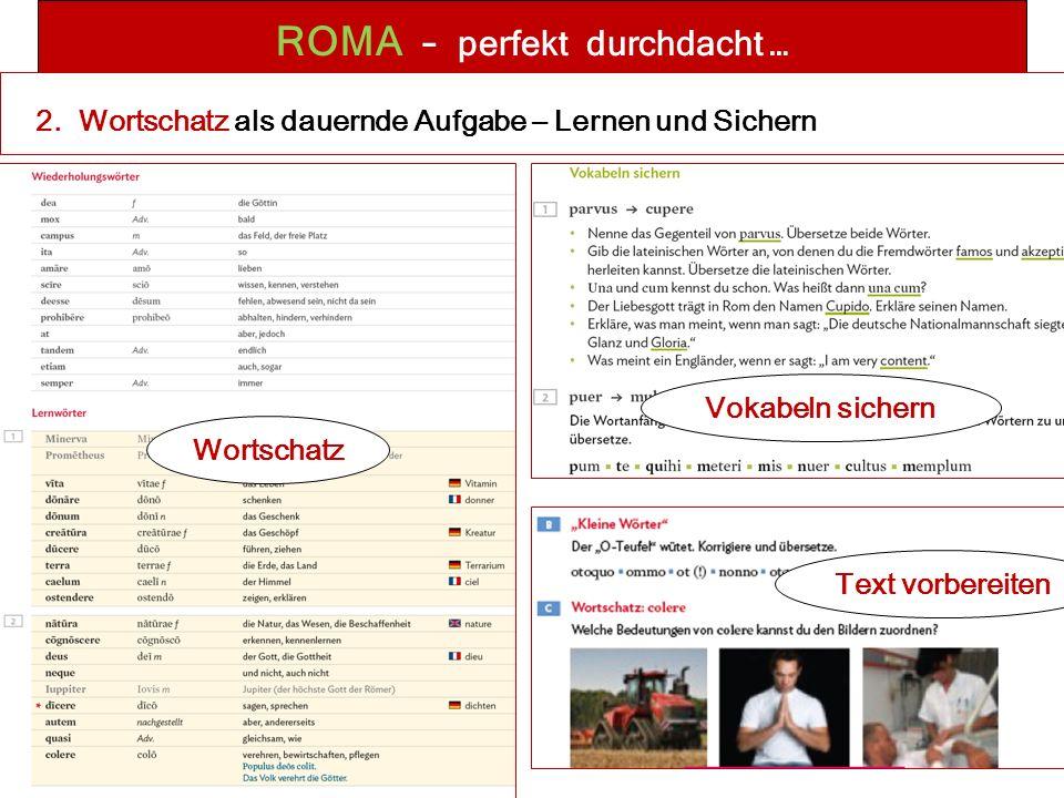 ROMA – perfekt durchdacht … 2.