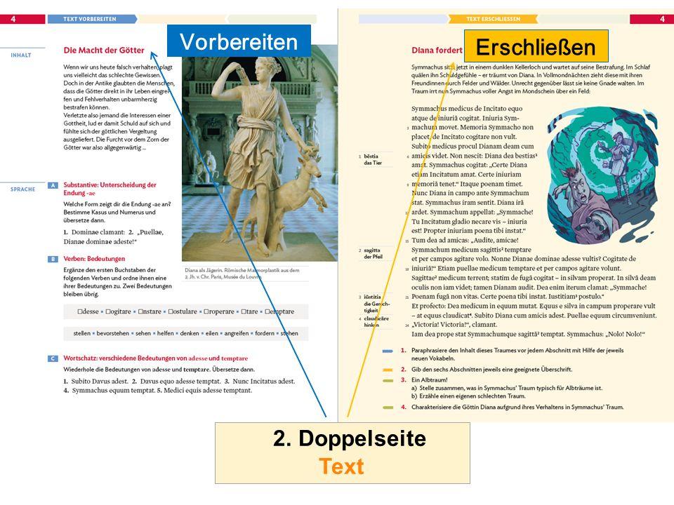 2. Doppelseite Text Vorbereiten Erschließen