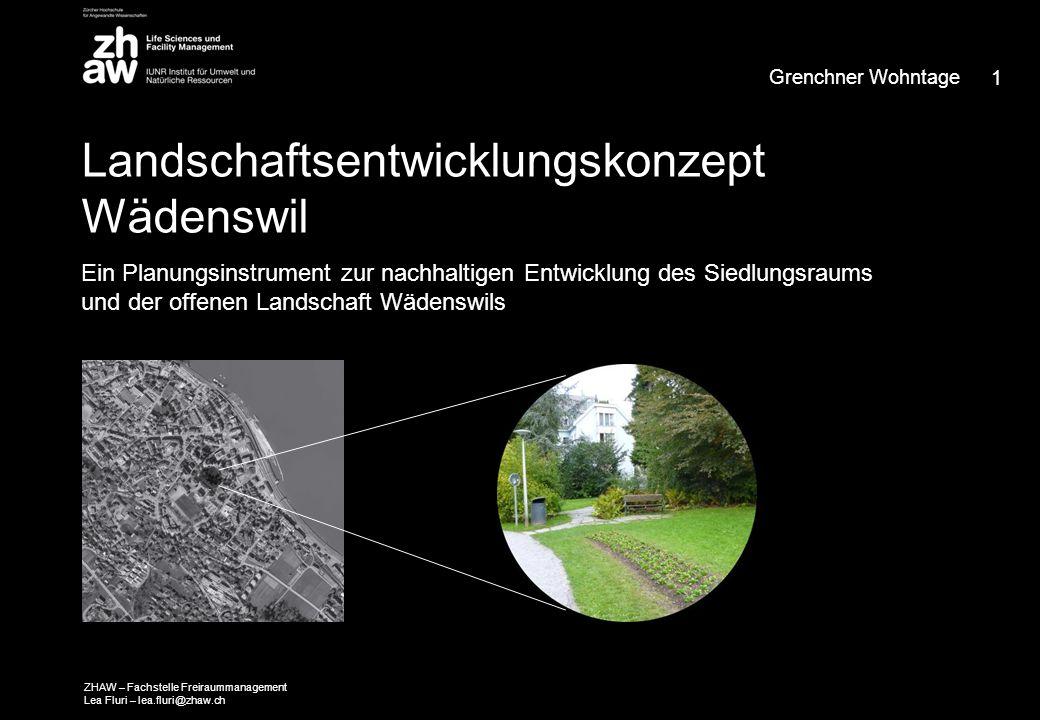 1.Fachstelle Freiraummanagement 2. LEK Wädenswil 3.