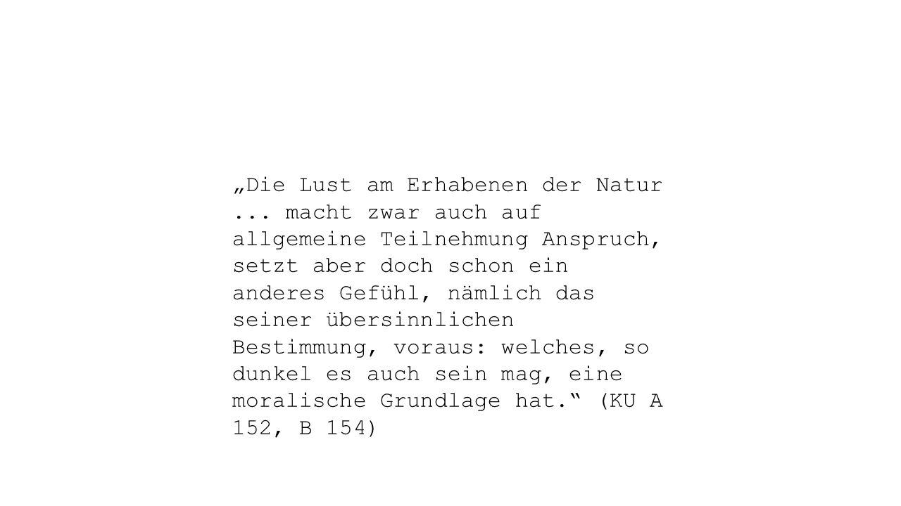 """""""Die Lust am Erhabenen der Natur..."""