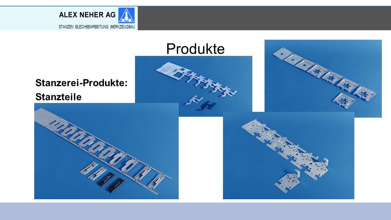 Produkte Stanzerei-Produkte: Stanzteile