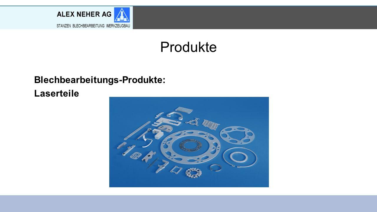 Produkte Blechbearbeitungs-Produkte: Laserteile