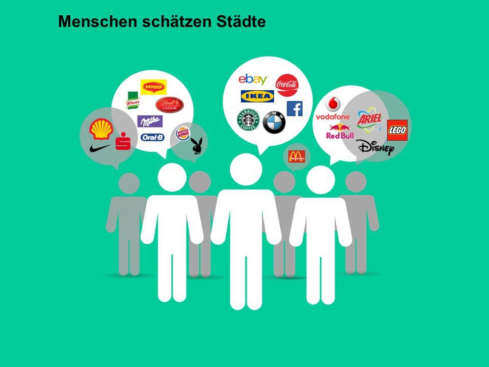 Auftaktveranstaltung zur Stadtkonzeption Heilbronn 2030 - 13. Juli 2015 Folie 17 Menschen schätzen Städte
