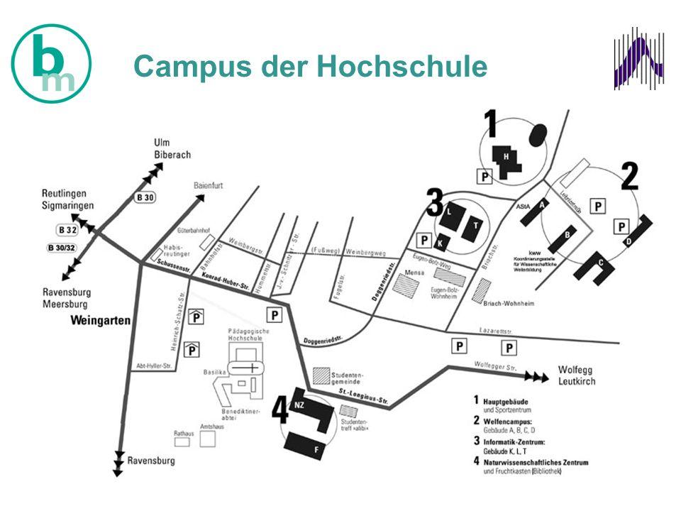 Campus der Hochschule