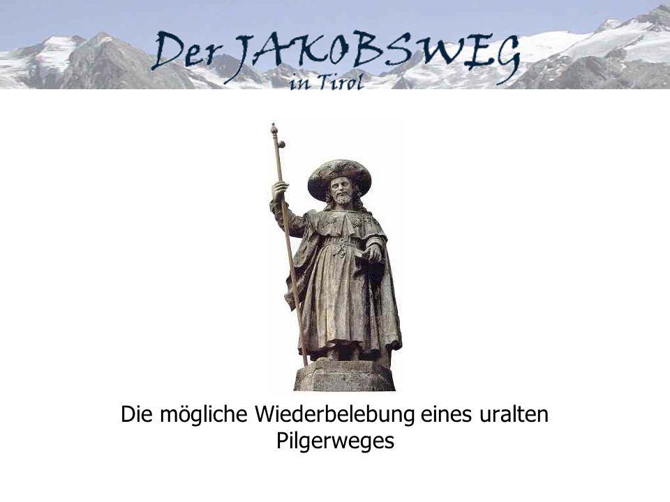 Jakobswege in Europa