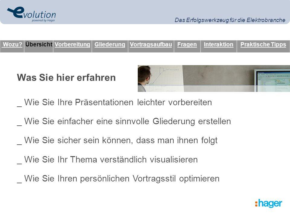 Das Erfolgswerkzeug für die Elektrobranche _ Fakten, Texte, Comics, Modelle, Muster, Grafiken, Fotos...